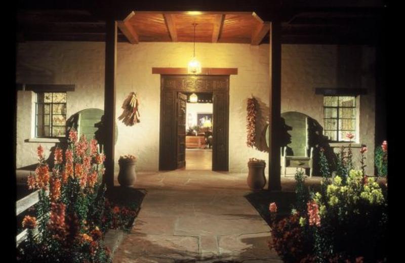 Entrance at Rancho De Los Caballeros.