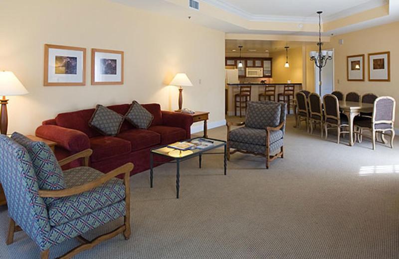 Guest Living Room at MonteLago Village Resort