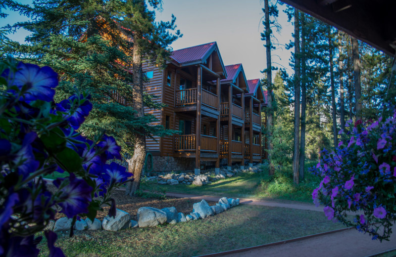 Exterior view of Baker Creek Mountain Resort.
