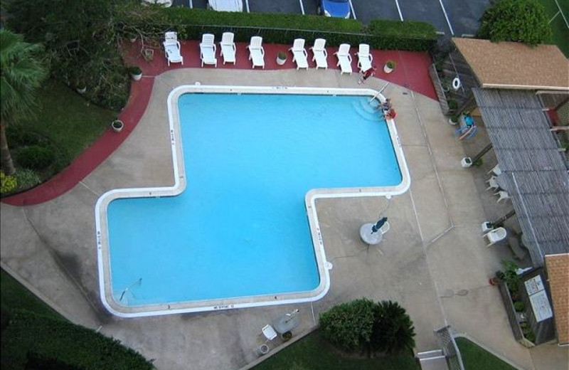 Rental outdoor pool at The House Company.