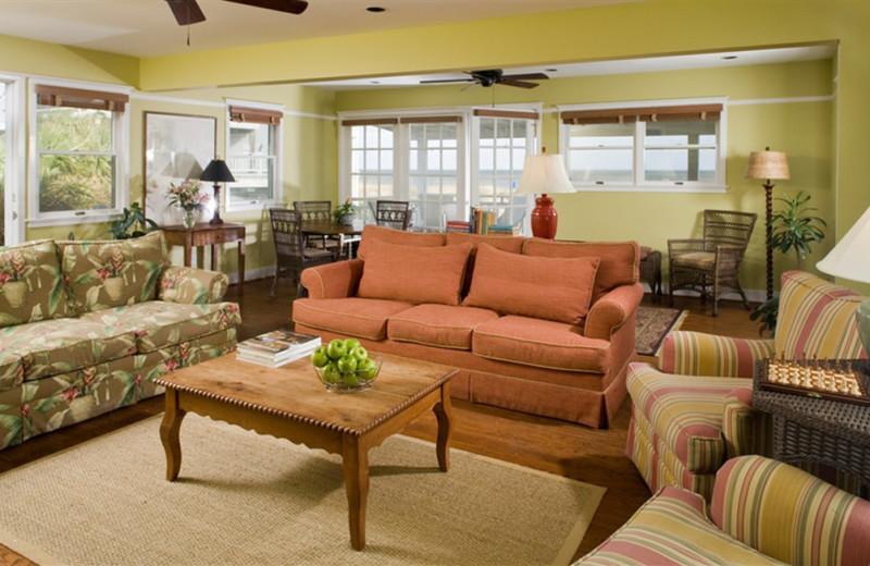 Cottage Interior at Elizabeth Pointe Lodge