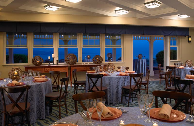 Dining at Beach House Half Moon Bay.
