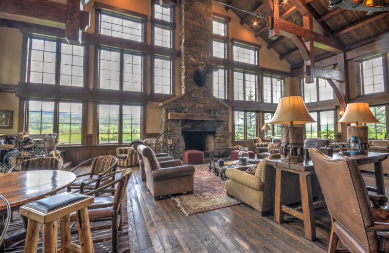 Lounge at Vista Verde Ranch.