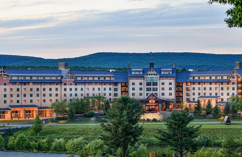 Exterior view of Mount Airy Casino Resort.
