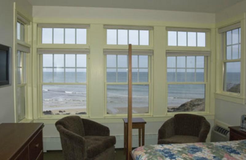 Interior Ocean View at Beachmere Inn