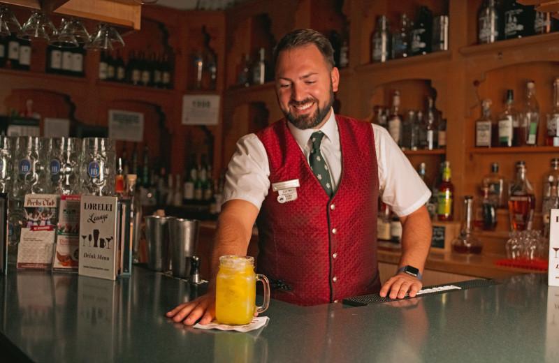 Bar at Bavarian Inn of Frankenmuth.