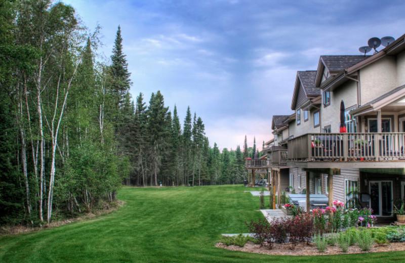 Townhouses at Elk Ridge Resort.