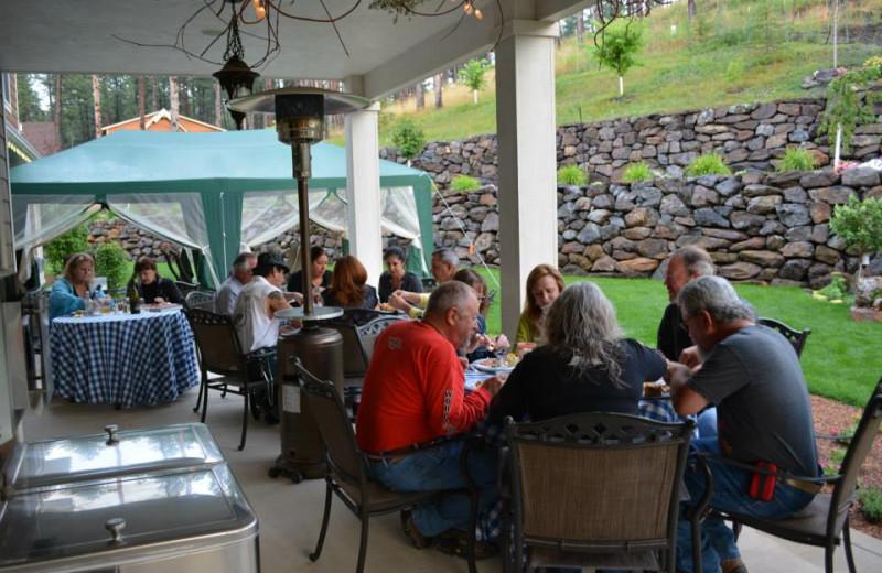 Group meeting at Summer Creek Inn & Spa.