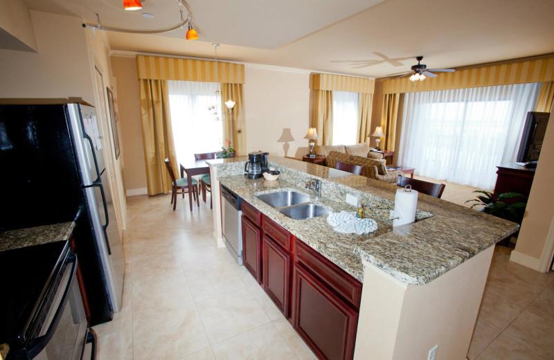 Suite interior at Lake Eve Resort.