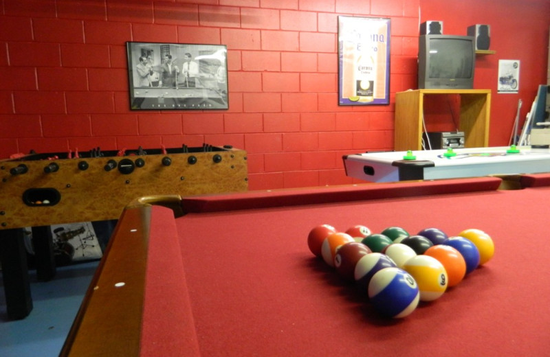 Rental game room at Florida Palms Vacation Villas.