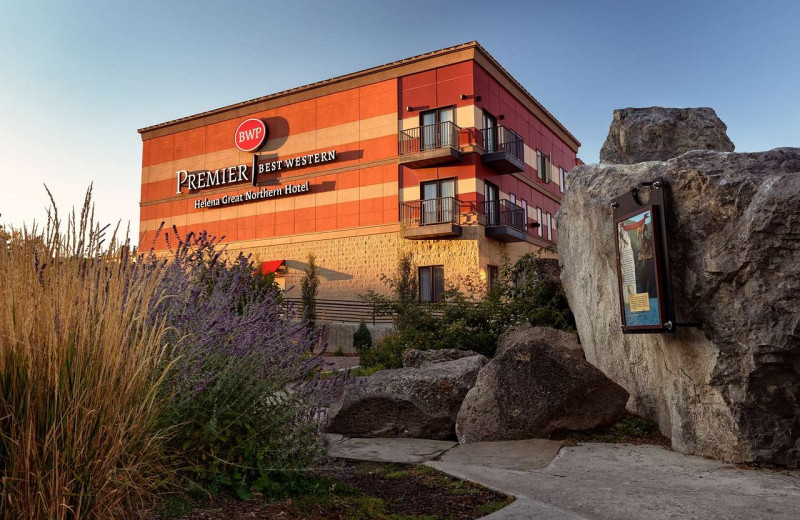 Exterior view of Best Western Helena Great Northern Hotel.