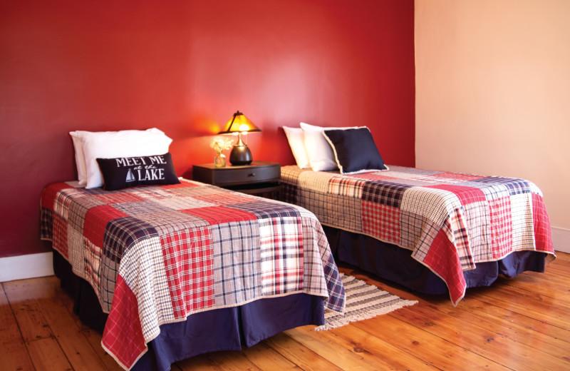 1 of 3 Bedrooms in the Mott House.