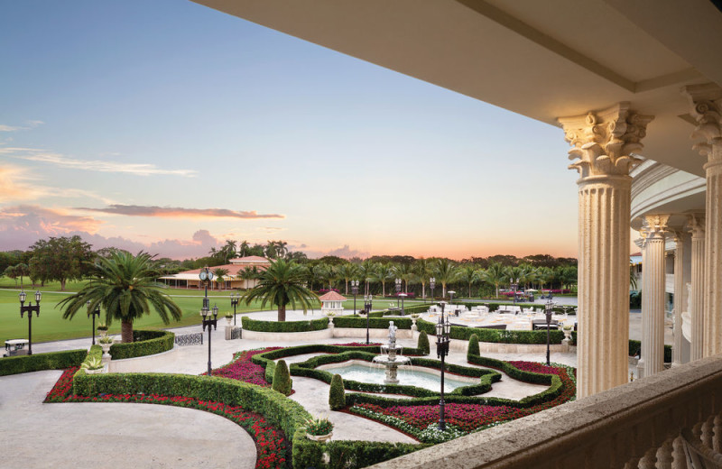 Garden view at Trump National Doral Miami.