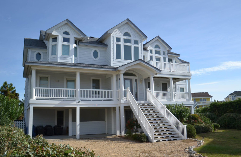 Rental exterior at Beach Realty & Construction.