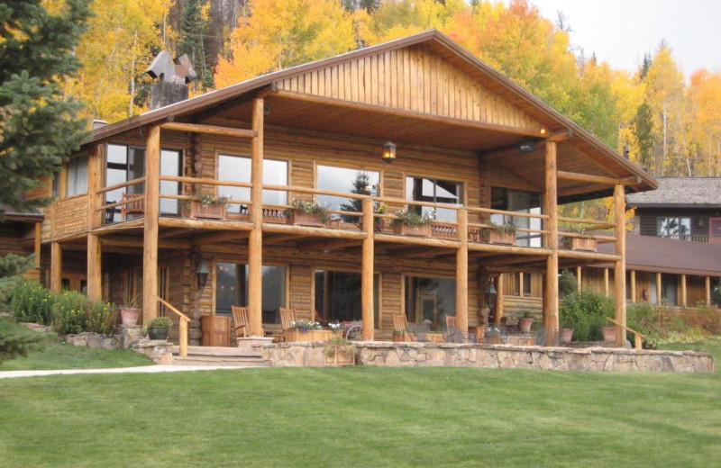 Exterior view of C Lazy U Ranch.