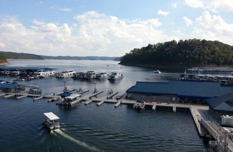 The Marina at Jamestown Resort and Marina.