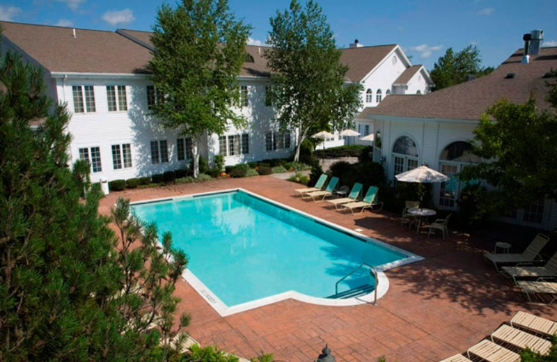 Outdoor Pool at the Copperfield Inn Resort