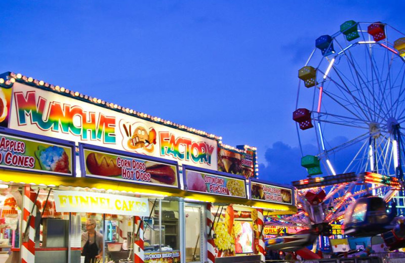 Amusement park near Myrtle Beach Vacation Rentals.