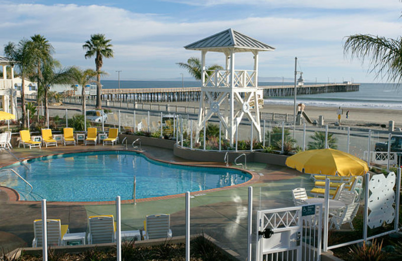 Outdoor Pool at Avila Lighthouse Suites