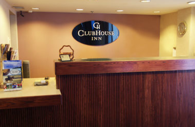 Front Desk at ClubHouse Inn