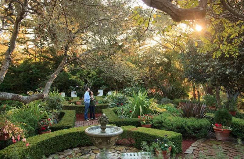 Garden at Old Monterey Inn.