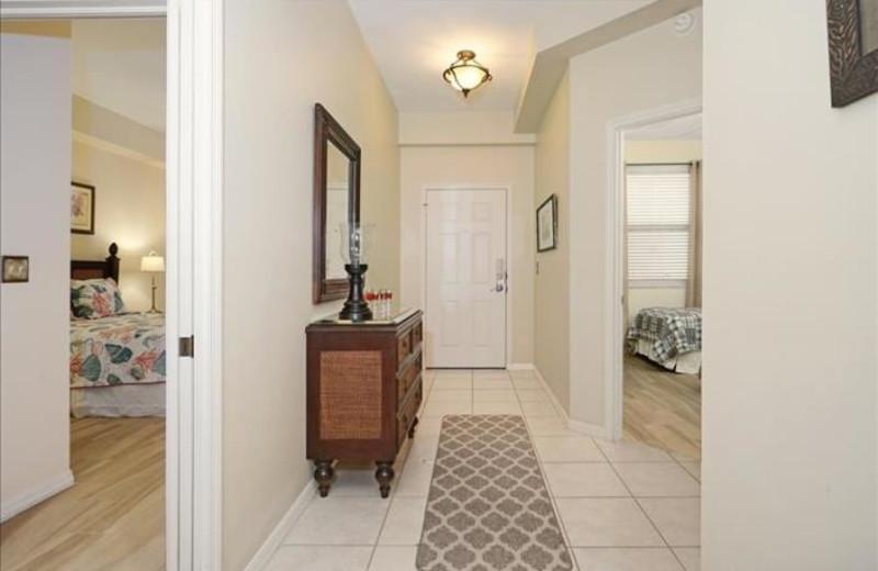 Rental hallway at Phase III Real Estate.