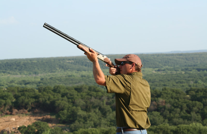 Shooting practice at Greystone Castle Sporting Club.
