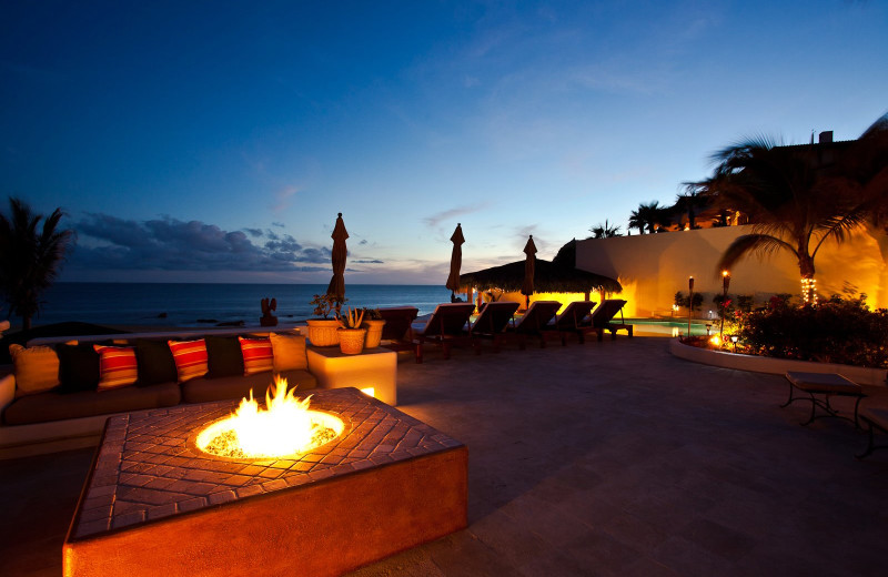 Rental patio at Sun Cabo Vacations.