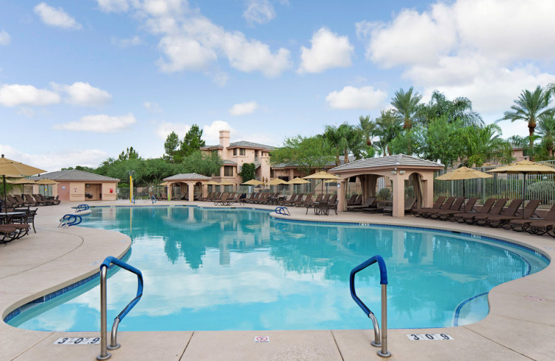 Outdoor pool at Scottsdale Links Resort.