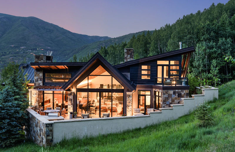 Superb Rental Exterior At Aspen Luxury Vacation Rentals.