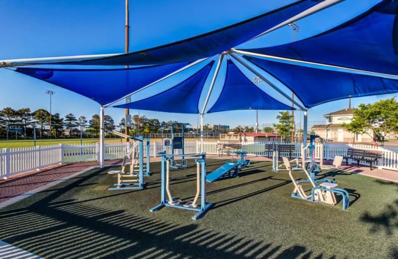 Fitness center at Vacasa Ocean City.