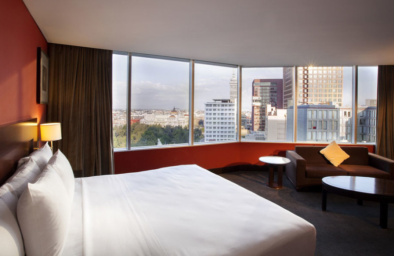 Guest room at Hilton Mexico City Reforma.