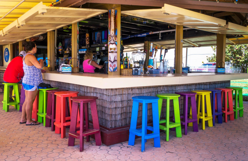 Tiki bar at Fountain Beach Resort.