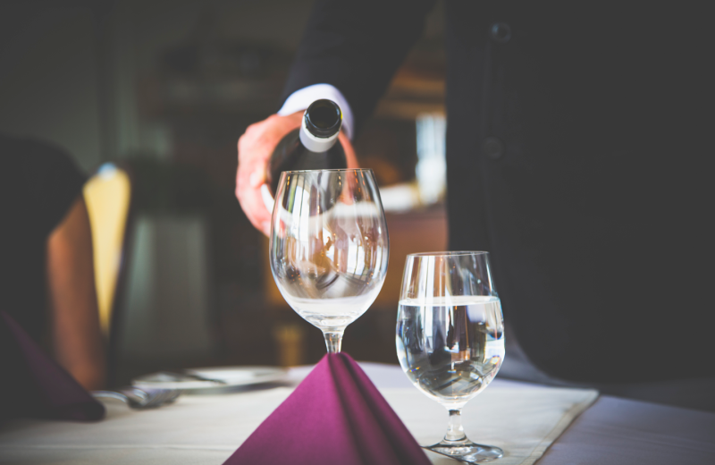 Hearthside Dining room service
