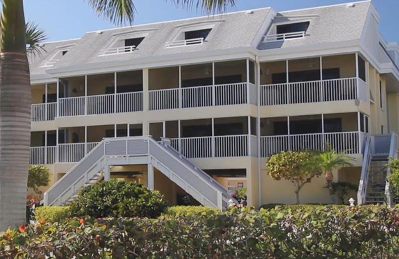 Exterior view of Tortuga Beach Club Resort.
