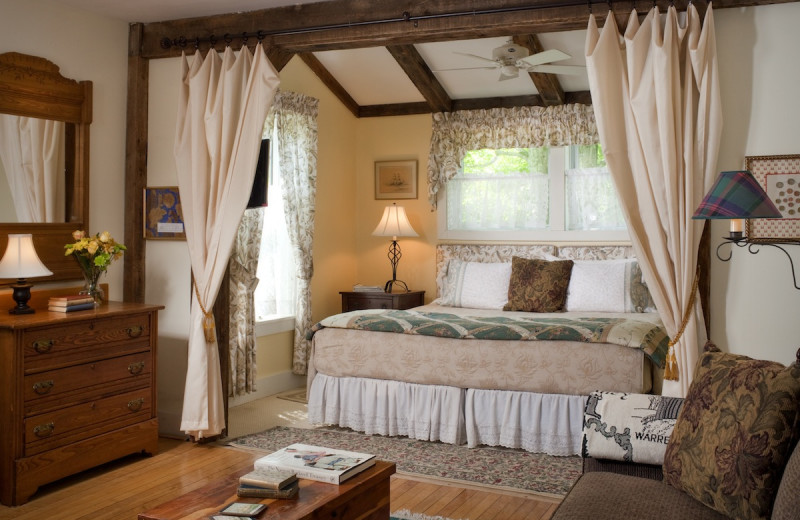 The Allen Suite is a favorite for multi-night stays with its spacious sitting area.