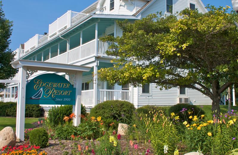 Exterior view of Edgewater Resort.
