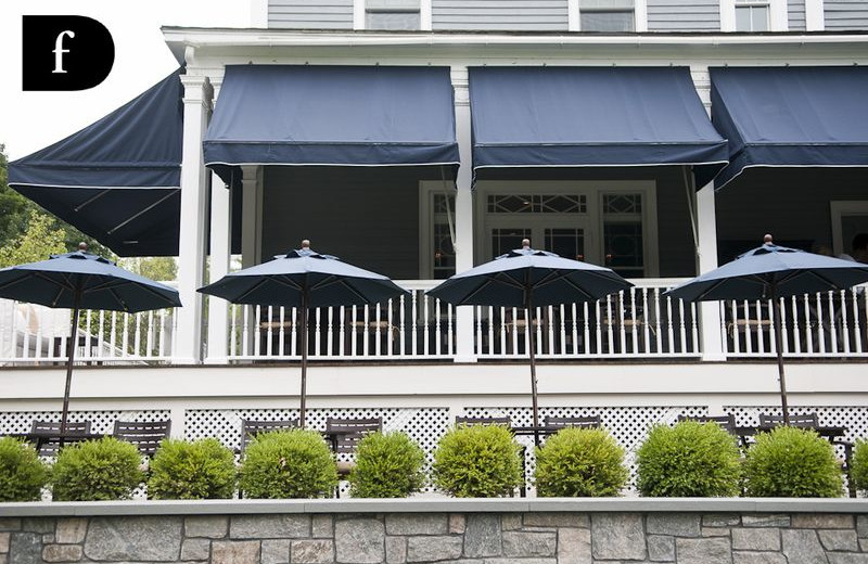 Grand Porch at Kemble Inn