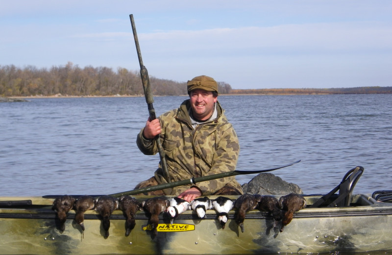 Duck hunting at Ballard's Black Island