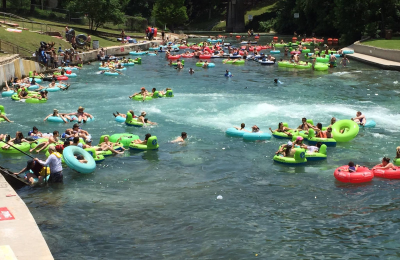 River tubing at River City Resorts.