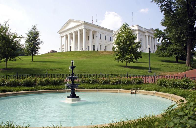 Virginia State Capitol near Best Western PLUS Oceanfront Virginia Beach.