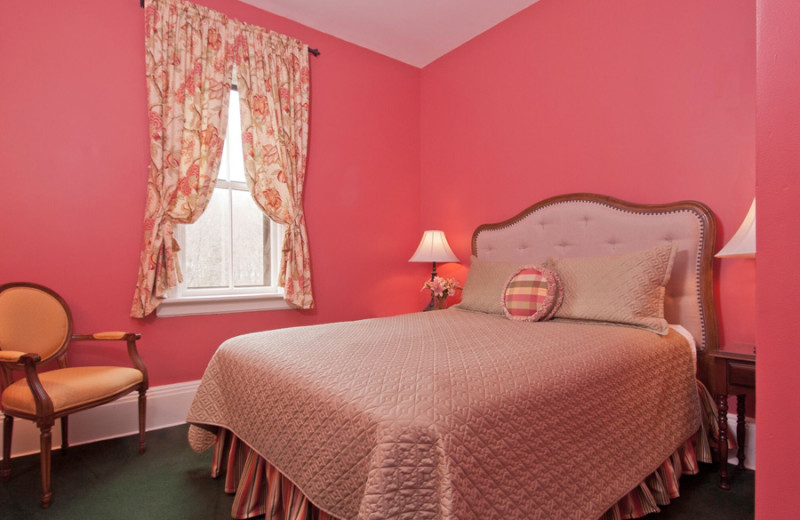 Guest room at Inn at Cooperstown.