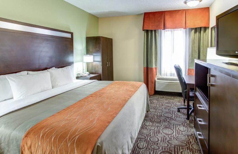 Guest room at Comfort Inn Chandler - Phoenix South.