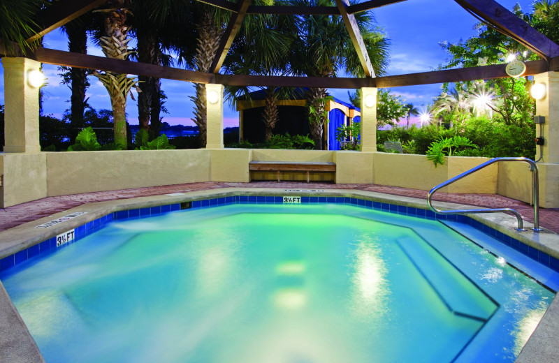 Hot tub at Holiday Inn Club Vacations at Orange Lake Resort.