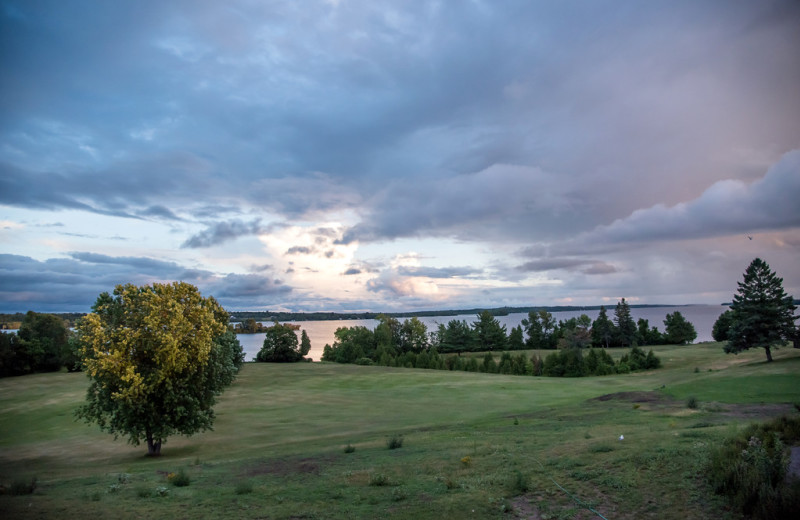 Lake view at Eganridge Resort, Country Club & Spa.