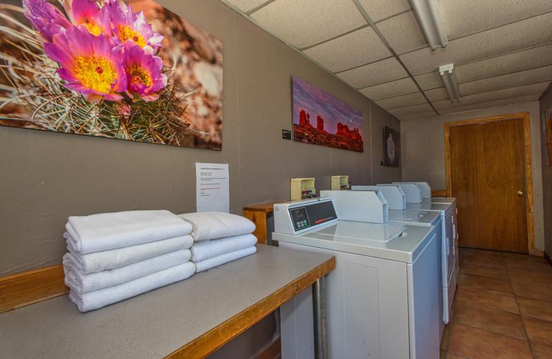 Laundry at Moab Rustic Inn.