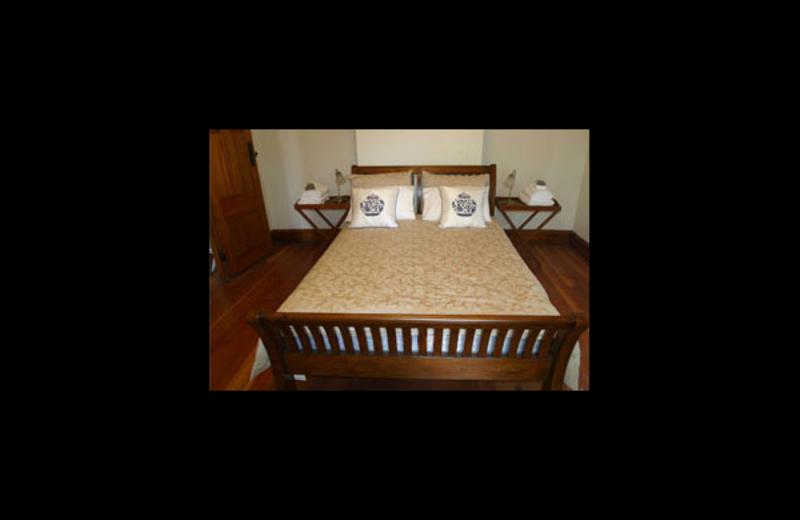 Guest room at Villa Victoria.