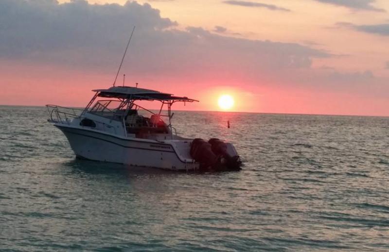 Boating at Alecassandra Vacation Villas.