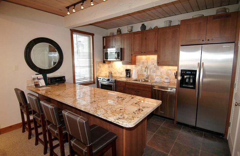 Rental kitchen at Frias Properties of Aspen - Chateau Eau Claire #20.