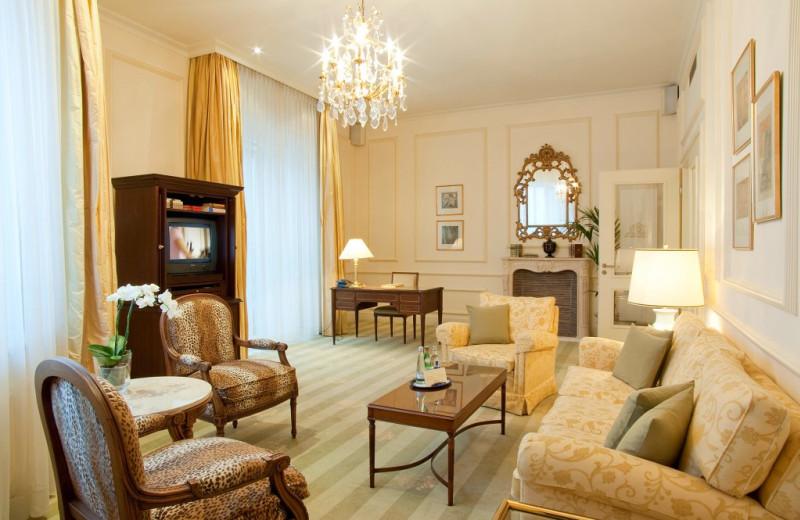 Guest room at Hotel Nassauer Hof.